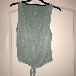 Mint green American Eagle tank